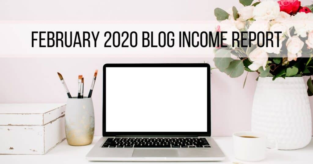 February Income Report for Blog