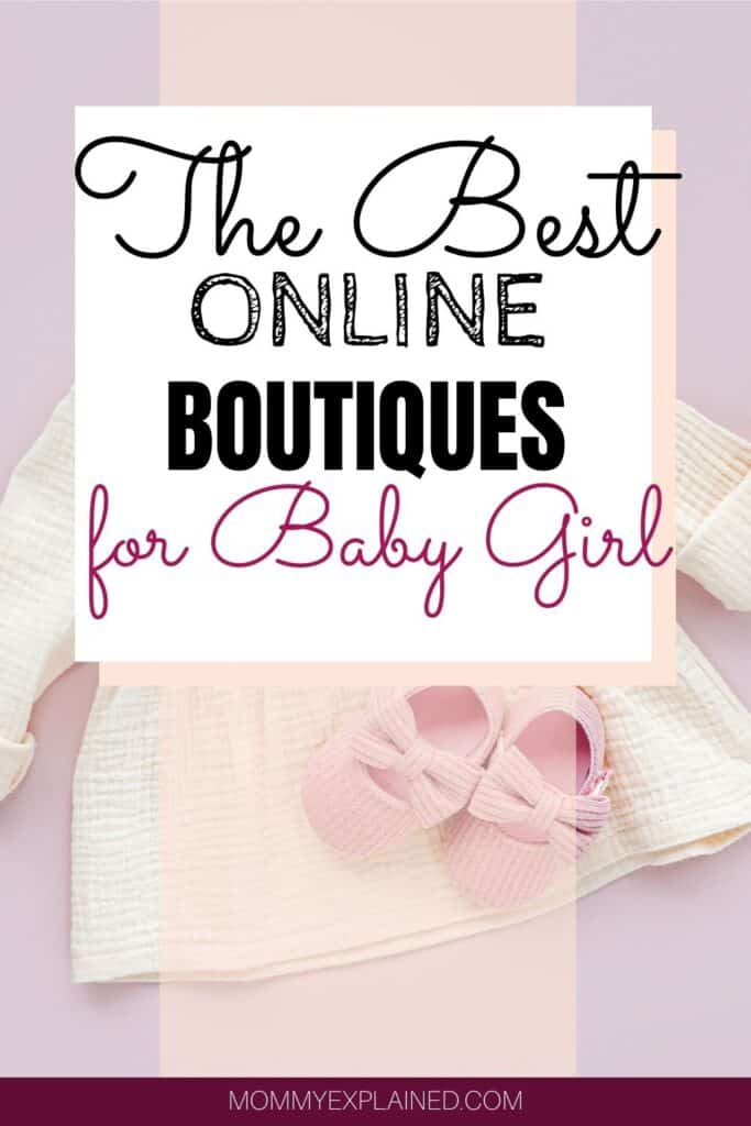 Online boutiques for baby girls