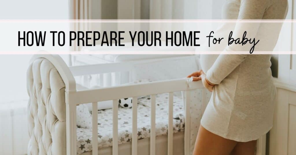 Home preparation for baby