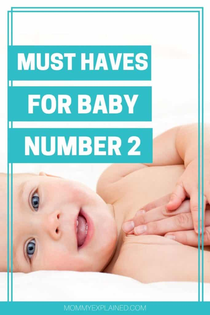 Top products for second baby