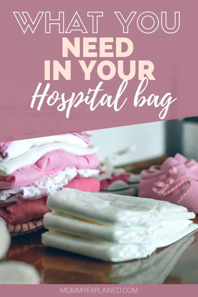 What to put in your bag for the hospital
