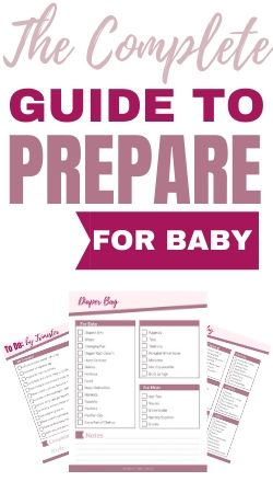 Guide to Prepare for a Baby