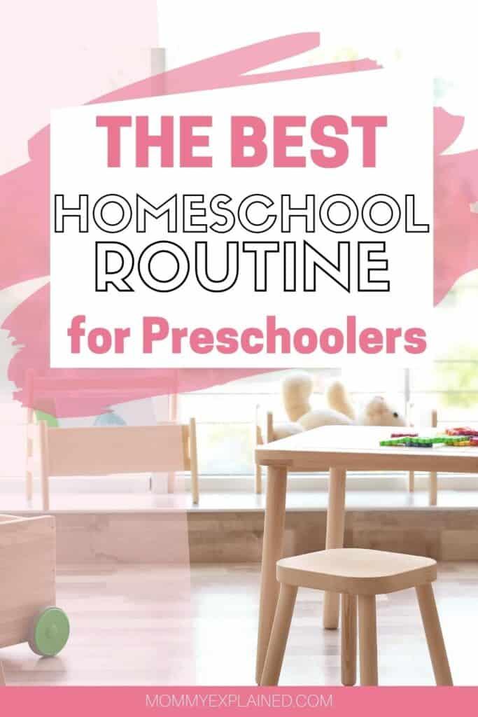 Preschool at home activities