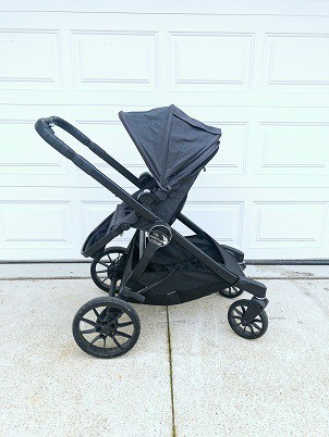 City Select Lux with parent facing toddler seat